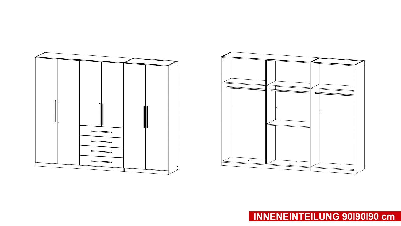 kleiderschrank kempten schrank dreht renschrank in sonoma eiche 271 cm. Black Bedroom Furniture Sets. Home Design Ideas