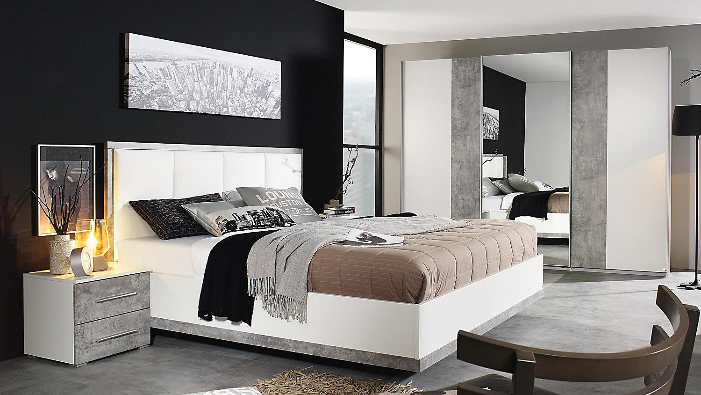 schlafzimmer set siegen schwebet renschrank bett nako in. Black Bedroom Furniture Sets. Home Design Ideas