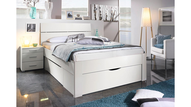 bett scala bettgestell jugendbett in wei mit schubk sten. Black Bedroom Furniture Sets. Home Design Ideas