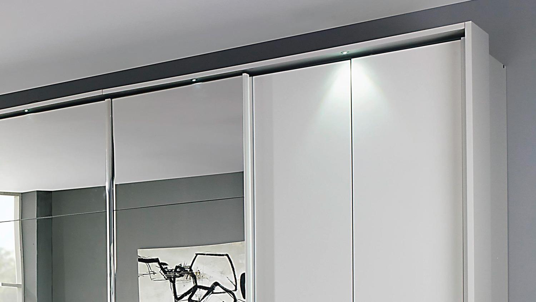 kleiderschrank fulda schrank wei hochglanz spiegel. Black Bedroom Furniture Sets. Home Design Ideas