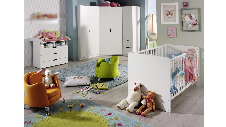 babyzimmer alvara 4 komplett set 5 teilig alpinwei rauch. Black Bedroom Furniture Sets. Home Design Ideas