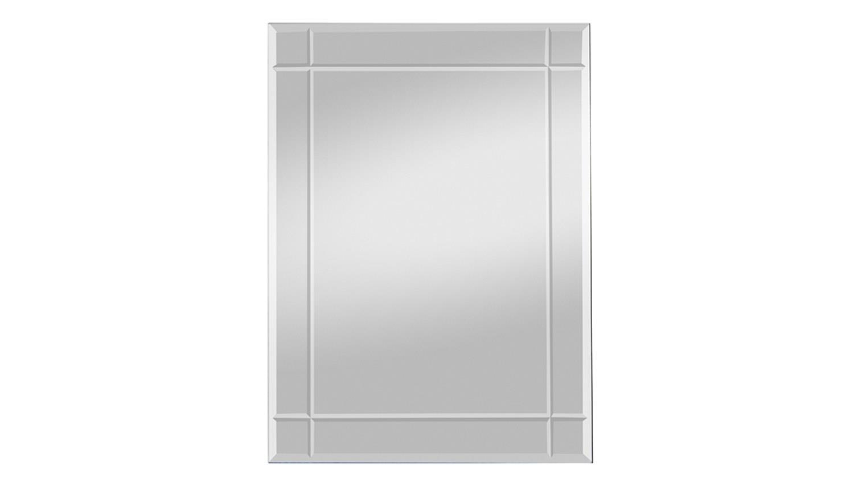Spiegel jan 70x90 cm mit rillenschliff wandspiegel rahmenlos for Spiegel 70x90