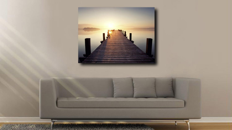 Leinwandbild MALIK Wandbild Motiv Meer sehen 60x80 cm