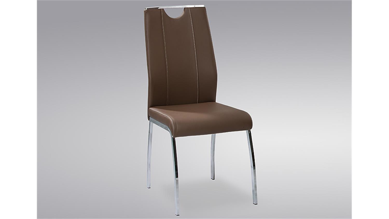 stuhl ralf 4er set cappuccino mit griff und ziern hten. Black Bedroom Furniture Sets. Home Design Ideas