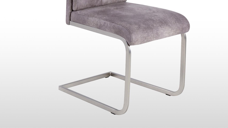 schwingstuhl 2er set kampen esszimmerstuhl in vintage hell. Black Bedroom Furniture Sets. Home Design Ideas