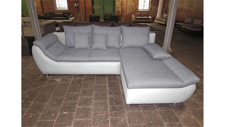 ecksofa solo wei und grau inkl bettkasten rec re 300x205. Black Bedroom Furniture Sets. Home Design Ideas