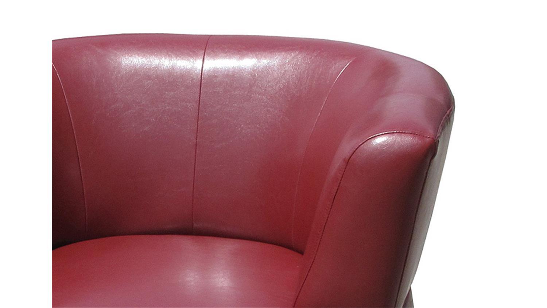 sessel holly moderner cocktailsessel einzelsessel in rot. Black Bedroom Furniture Sets. Home Design Ideas