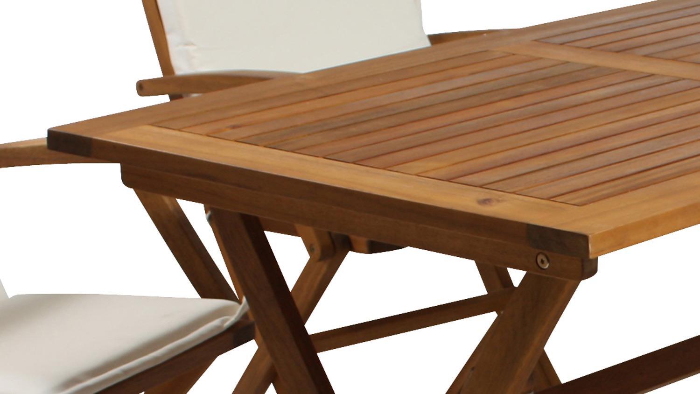 Klapptisch Massivholz.Gartentisch Tisch Klapptisch Esstisch Akazie Massivholz