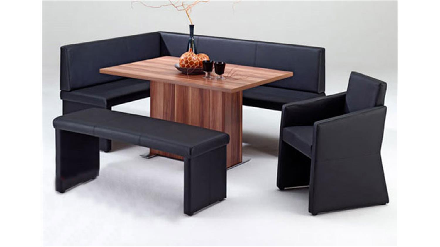 eckbank sting polsterbank bank gepolstert in braun 140x200. Black Bedroom Furniture Sets. Home Design Ideas
