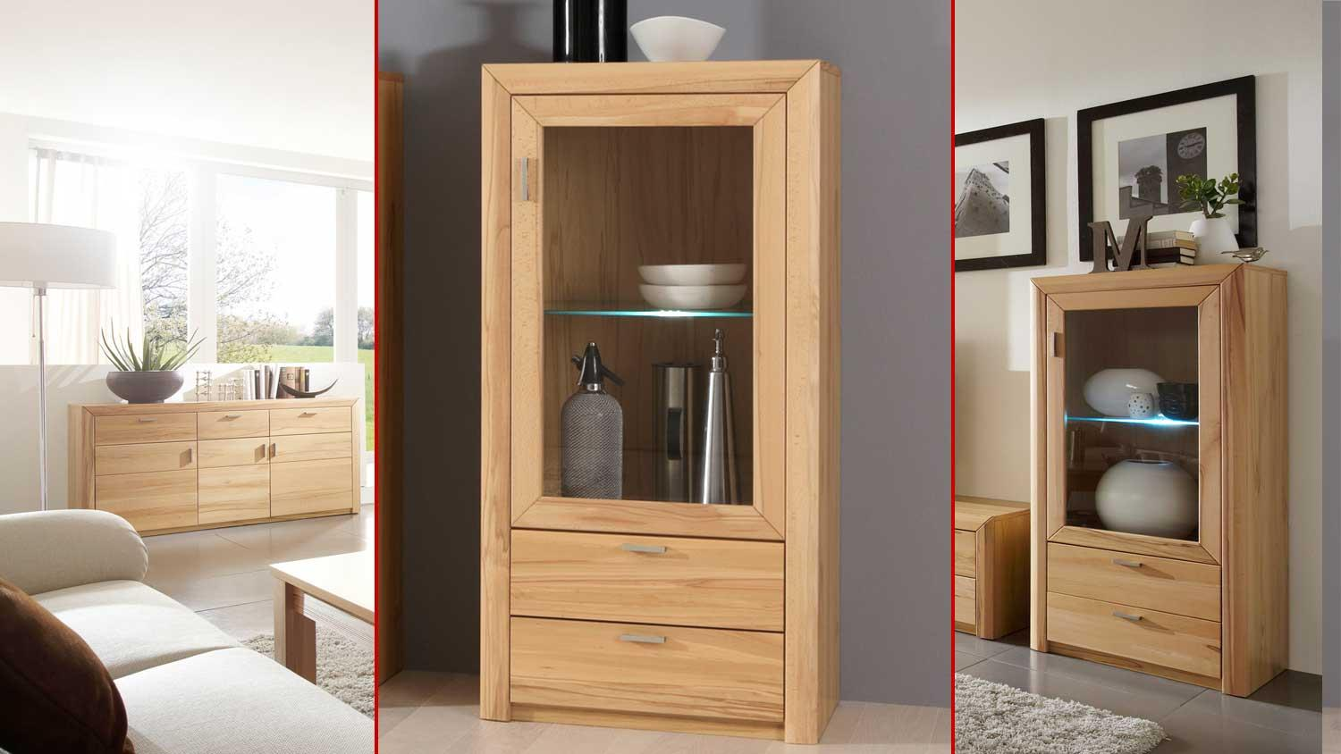 highboard passepartout 04 r in kernbuche teilmassiv. Black Bedroom Furniture Sets. Home Design Ideas