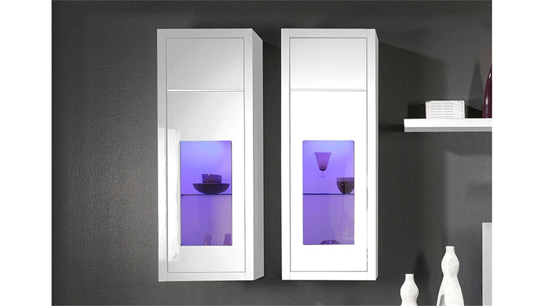 anbauwand wei affordable design wohnwand anbauwand wei grau ue details zu wohnwand mirror. Black Bedroom Furniture Sets. Home Design Ideas