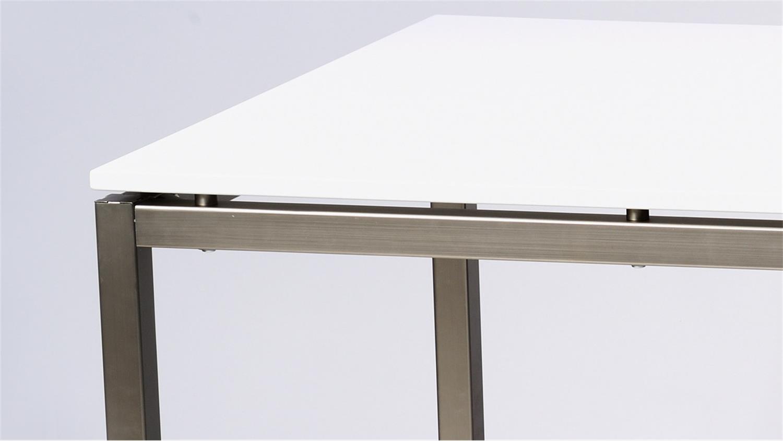 Tischplatte weiß hochglanz  Florence Tischplatte weiß Hochglanz 180x90 cm