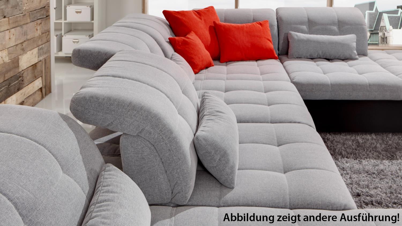 Attraktiv Sofa Sitztiefenverstellung Beste Wahl Santa Fe In Schwarz Anthrazit Mit