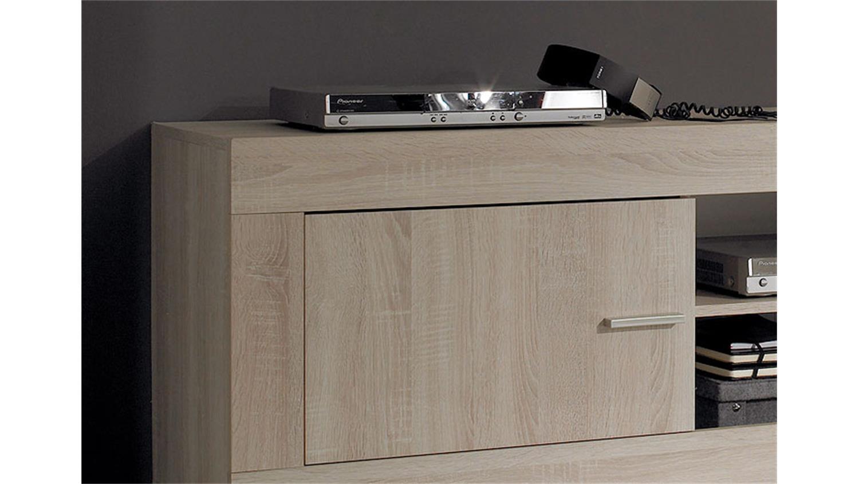 tv lowboard rustica tv unterteil sonoma eiche melamin. Black Bedroom Furniture Sets. Home Design Ideas