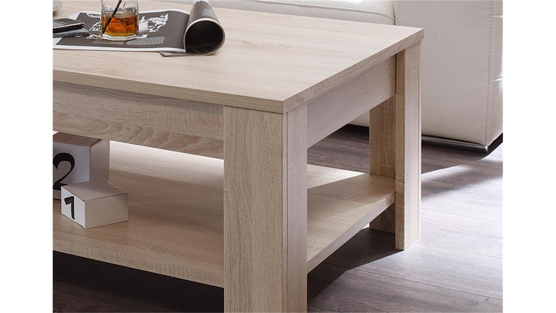 couchtisch ii rustica beistelltisch in sonoma eiche melamin. Black Bedroom Furniture Sets. Home Design Ideas