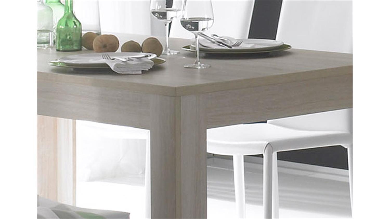 tischgruppe rustica tisch in sonoma eiche und wei 160 cm. Black Bedroom Furniture Sets. Home Design Ideas