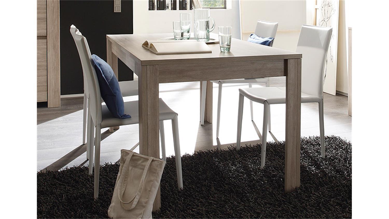 esstisch elba tisch in eiche gek lkt dekor 180x90 cm. Black Bedroom Furniture Sets. Home Design Ideas