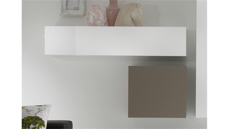 Cool Finest Wohnwand Cube Kombi Wei Lack Und Beige Matt With Wohnwand Cube  With Wohnwand Wei Lack