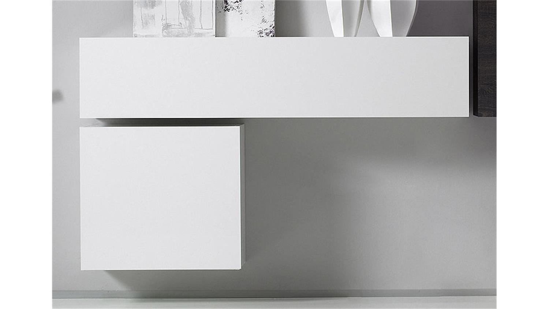wohnwand cube kombi 11 wei lack und eiche wenge. Black Bedroom Furniture Sets. Home Design Ideas