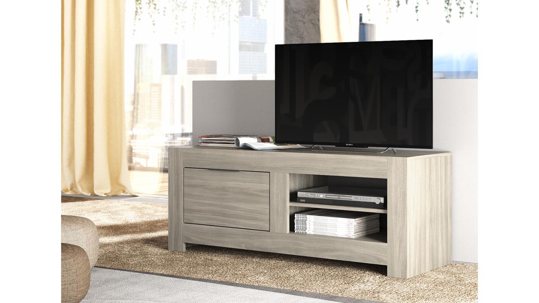 tv board capri lowboard in raucheiche und anthrazit breite. Black Bedroom Furniture Sets. Home Design Ideas