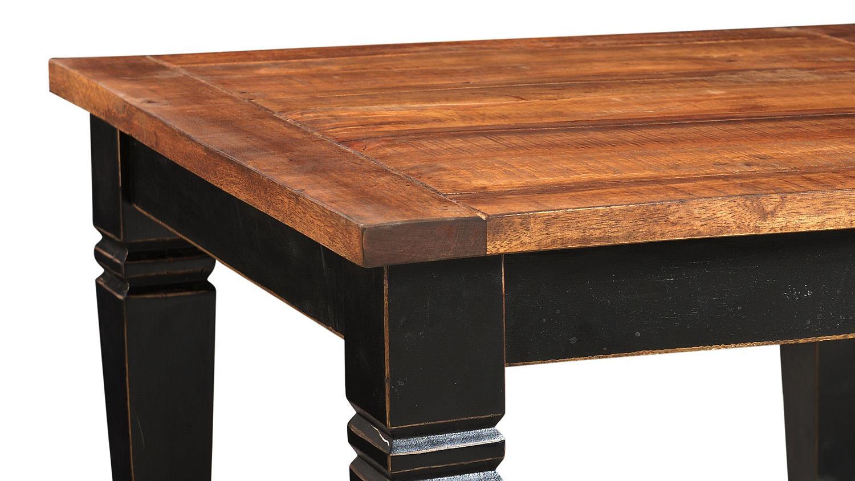 couchtisch corsica von sit mango mdf schwarz honig 80x80 cm. Black Bedroom Furniture Sets. Home Design Ideas