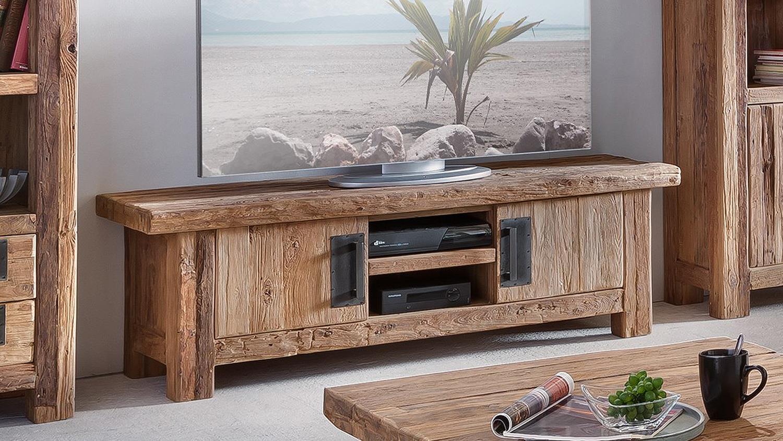 lowboard coral recyceltes teak natur massivholz 160 cm. Black Bedroom Furniture Sets. Home Design Ideas