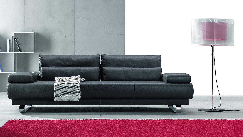 polsterm bel leder schillig. Black Bedroom Furniture Sets. Home Design Ideas