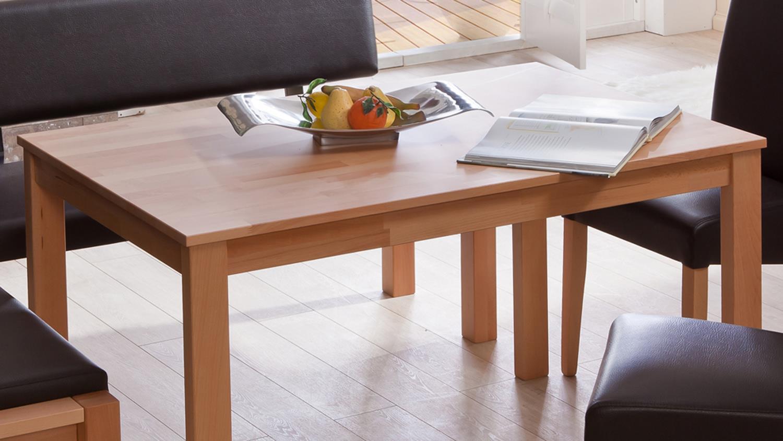 esstisch emanuela tisch 125x80cm in kernbuche massiv. Black Bedroom Furniture Sets. Home Design Ideas
