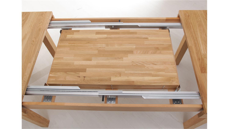 Esstisch multi xl synchronauszug massivholz kernbuche for Buche esszimmertisch