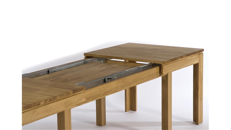 esstisch multi xl syncronauszug massivholz eiche lackiert. Black Bedroom Furniture Sets. Home Design Ideas