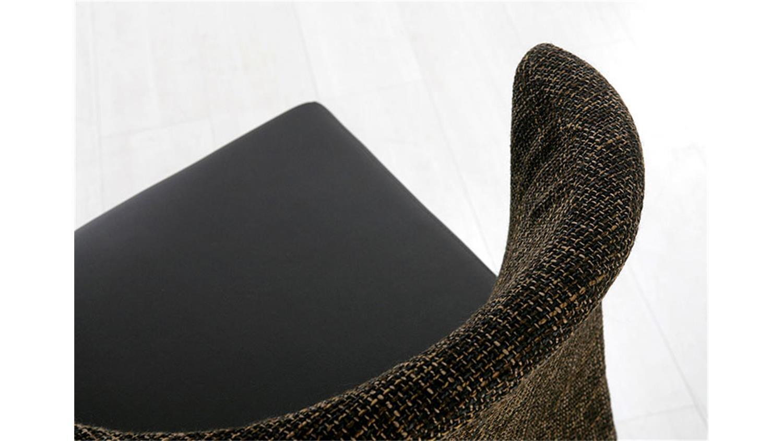 Stuhl sofia toller polsterstuhl in braun mit massiver buche for Polsterstuhl braun stoff