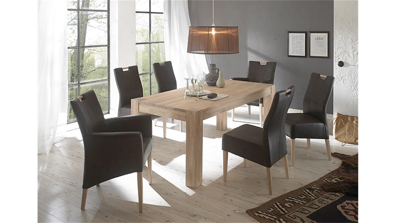 massiv esstisch eiche beautiful esstisch richwood with massiv esstisch eiche cool beispiele. Black Bedroom Furniture Sets. Home Design Ideas
