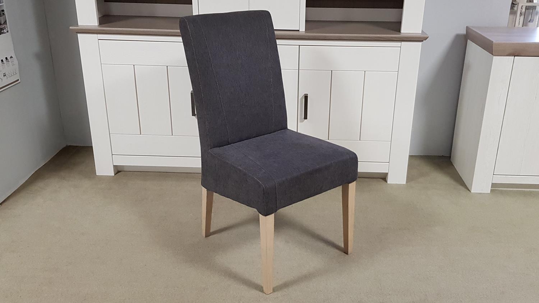stuhl leon esszimmerstuhl in stoff anthrazit und eiche sonoma. Black Bedroom Furniture Sets. Home Design Ideas