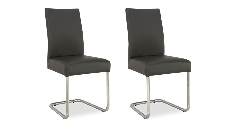 essgruppe aladin in eiche bianco schwarz stuhl kadira fango. Black Bedroom Furniture Sets. Home Design Ideas