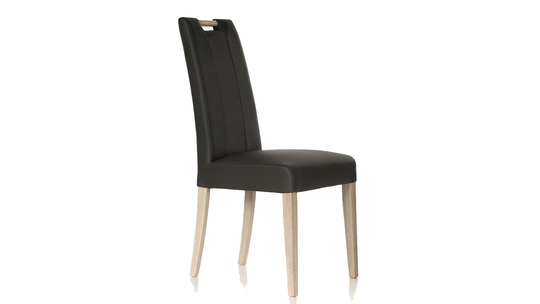 stuhl samiro 2 esszimmerstuhl in anthrazit und sonoma eiche mit griff. Black Bedroom Furniture Sets. Home Design Ideas