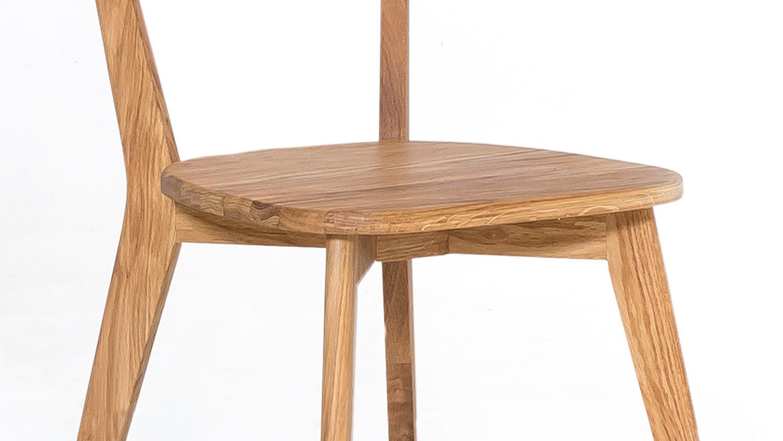 holzstuhl noci 1 stuhl esszimmer stuhlsystem eiche natur massiv ge lt. Black Bedroom Furniture Sets. Home Design Ideas