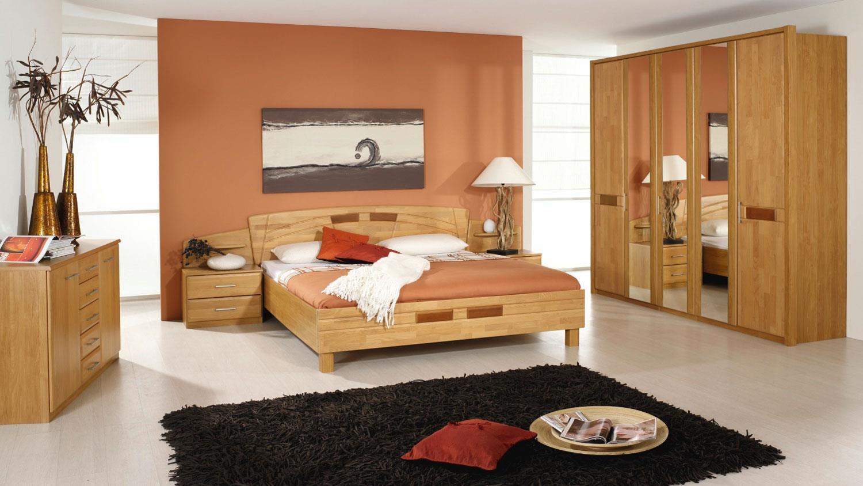 Schlafzimmer SARAH Erle teilmassiv 5-türiger Kleiderschrank Steffen ...
