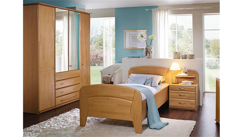 schlafzimmer set vanessa plus buche rubin teilmassiv. Black Bedroom Furniture Sets. Home Design Ideas