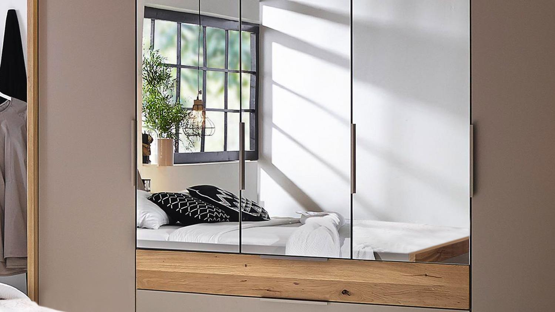 schlafzimmer set tanola bett schrank nako fango matt asteiche massiv. Black Bedroom Furniture Sets. Home Design Ideas