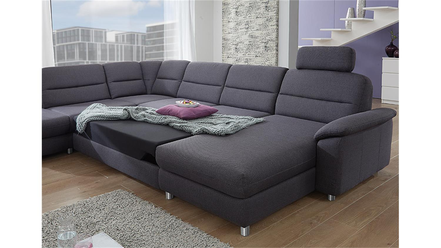ecksofa anthrazit. Black Bedroom Furniture Sets. Home Design Ideas