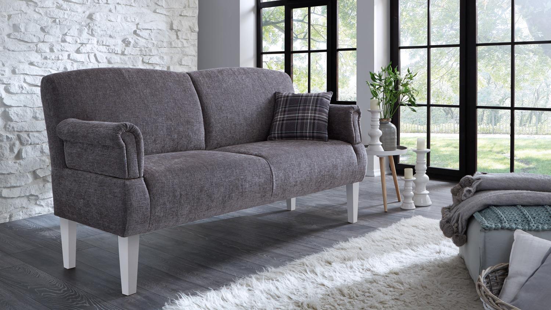 Strange Sofa Paisley 3 Sitzer In Stoff Grau Weiss Federkern Alphanode Cool Chair Designs And Ideas Alphanodeonline