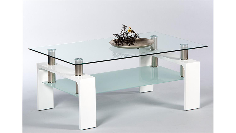 Mit Glasplatte Hochglanz Weiß Roomscape Artikelnummer M Ac