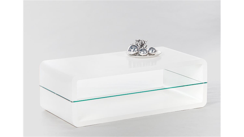 TRITON 2 Weiß Hochglanz Klarglas