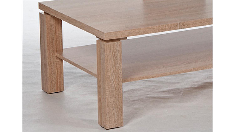 Couchtisch RUBIK Beistelltisch Tisch Sonoma Eiche sägerau