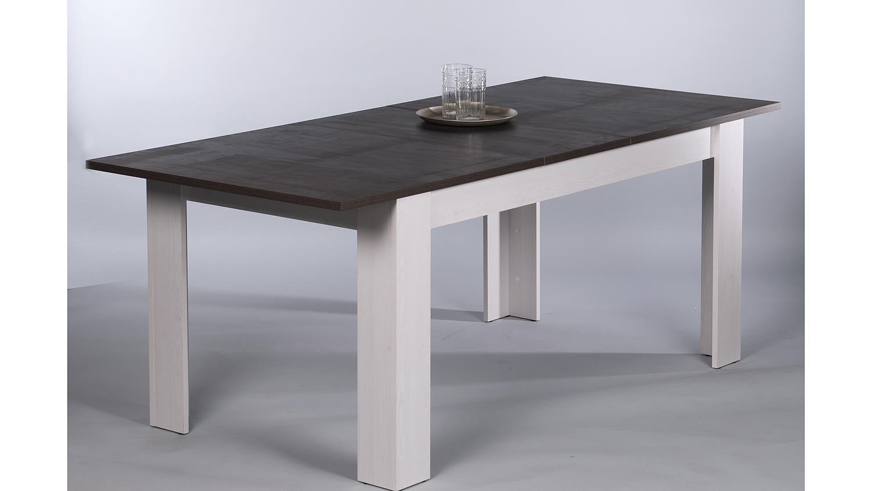 Esstisch toronto touchwood und sibiu l rche ausziehbar 160 for Esstisch 200x90