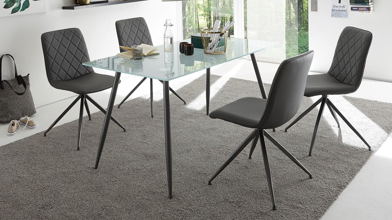 Bezaubernd Esszimmerstühle Metall Dekoration Von