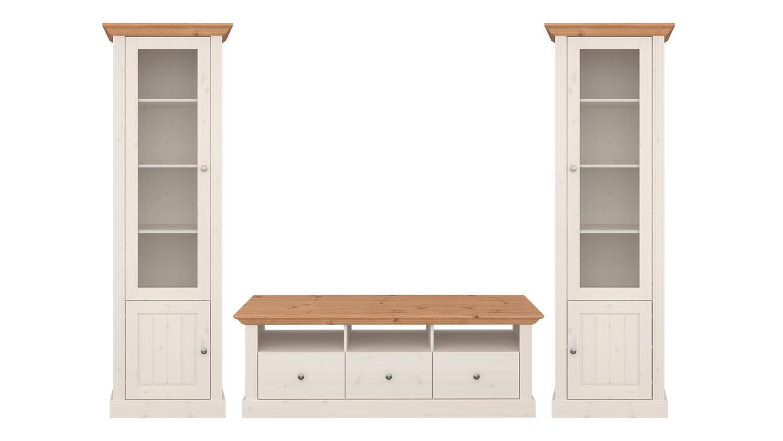 wohnwand kiefer modern interessante ideen. Black Bedroom Furniture Sets. Home Design Ideas