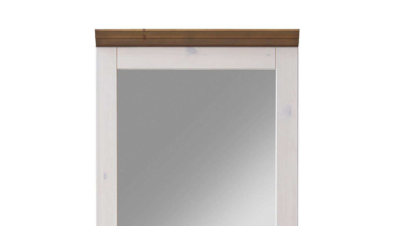 White Wash Spiegel : Spiegel monaco kiefer massiv weiß white wash stone