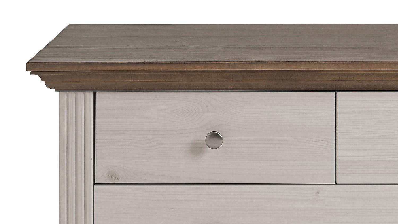 garderobenbank monaco kiefer massiv white wash stone. Black Bedroom Furniture Sets. Home Design Ideas