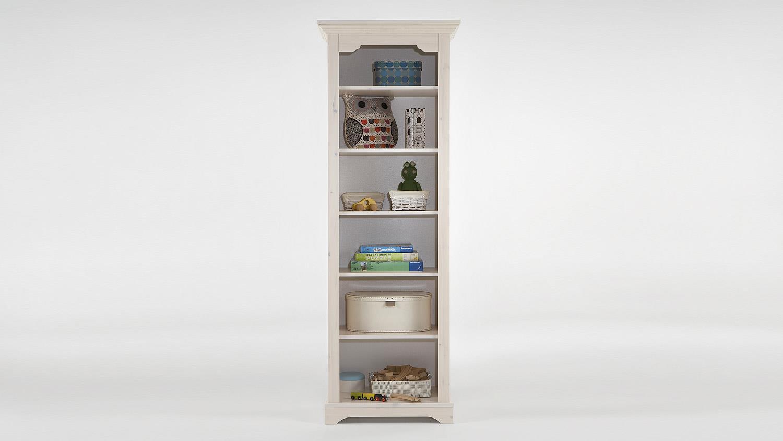 regal lotta kiefer masssiv wei white wash 6 f cher. Black Bedroom Furniture Sets. Home Design Ideas